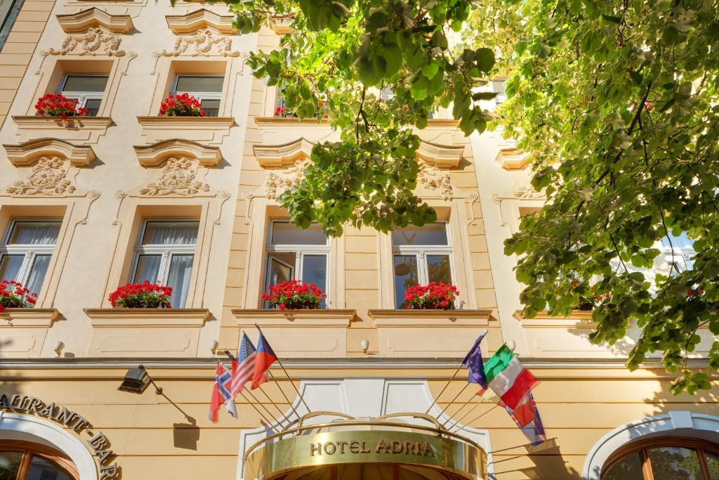 Adria hotel prague prag informationen und buchungen for M hotel prague