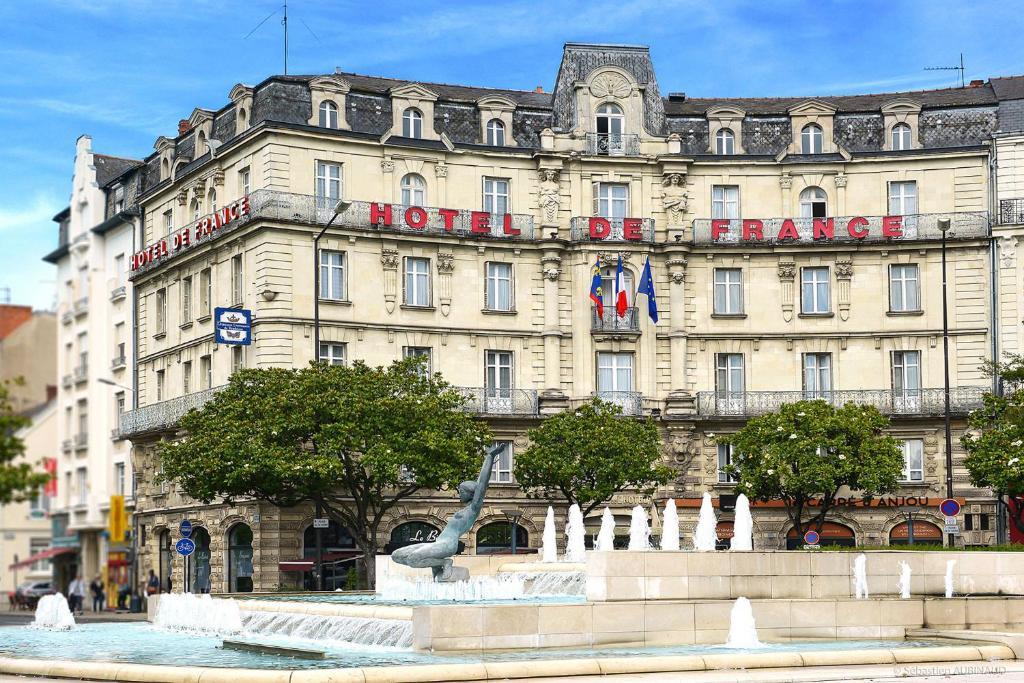 H tel de france angers informationen und buchungen for Michelin hotel france