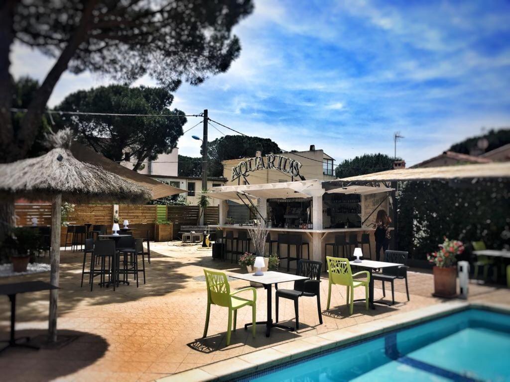 Hotel Aquarius Canet En Roussillon Online Booking Viamichelin