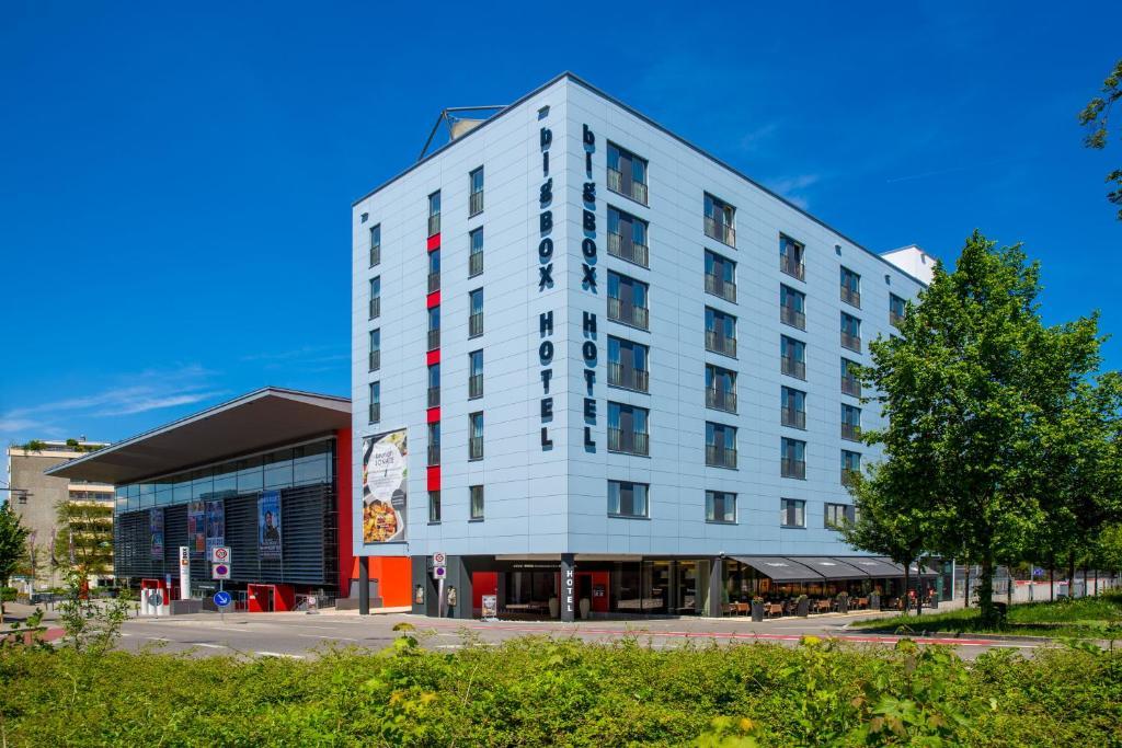 Bigbox allg u hotel r servation gratuite sur viamichelin for Big box hotel bomonti