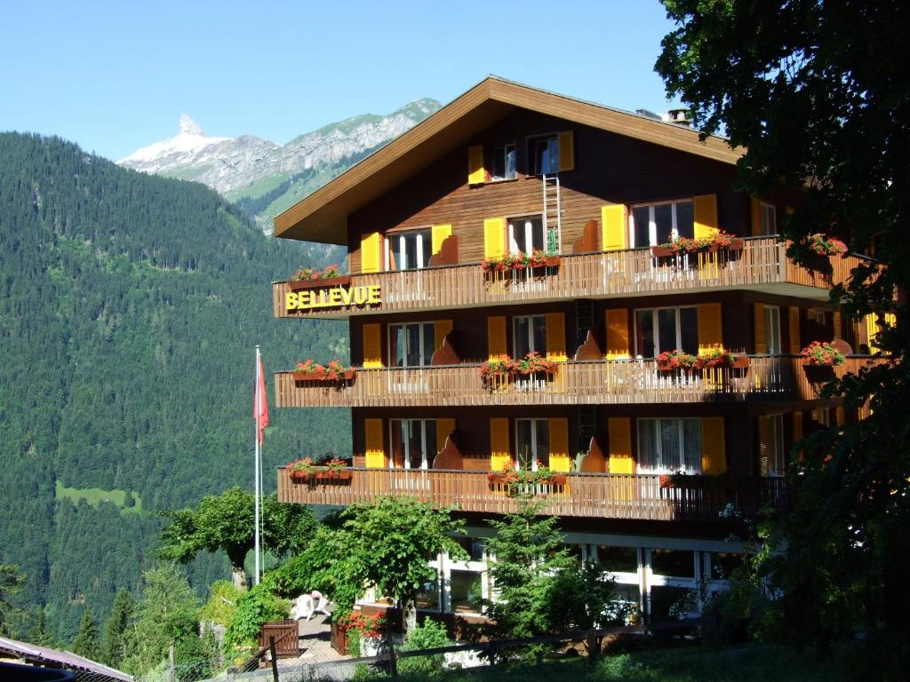 Hotel Bellevue-wengen - Lauterbrunnen