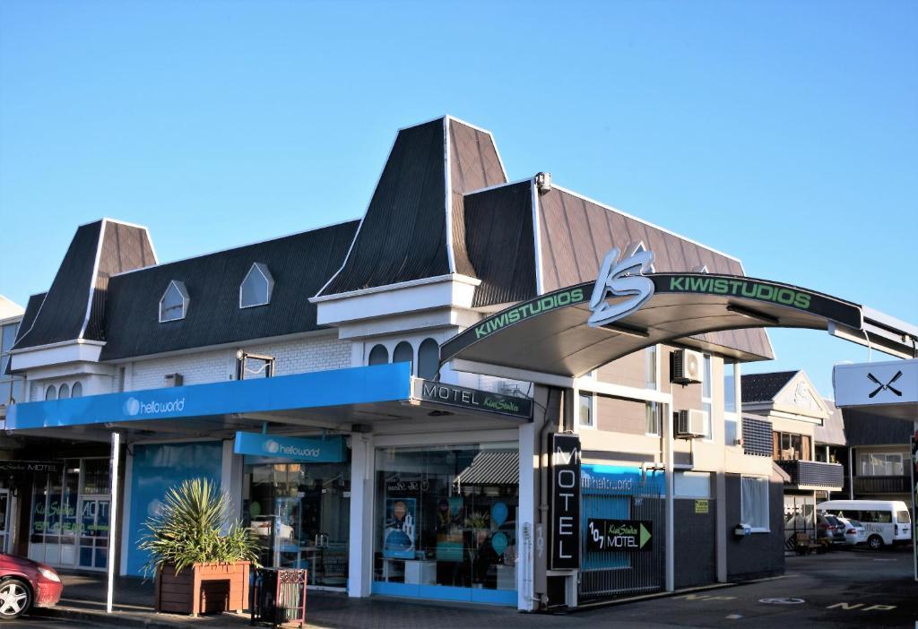 Kiwi studios motel r servation gratuite sur viamichelin for Reservation motel