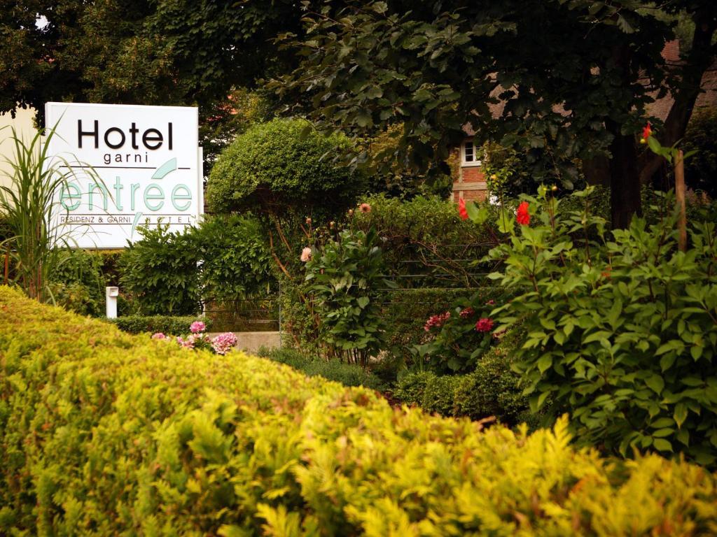 Entree Gross Borstel Garni Hotel Hamburg Hotels Germany