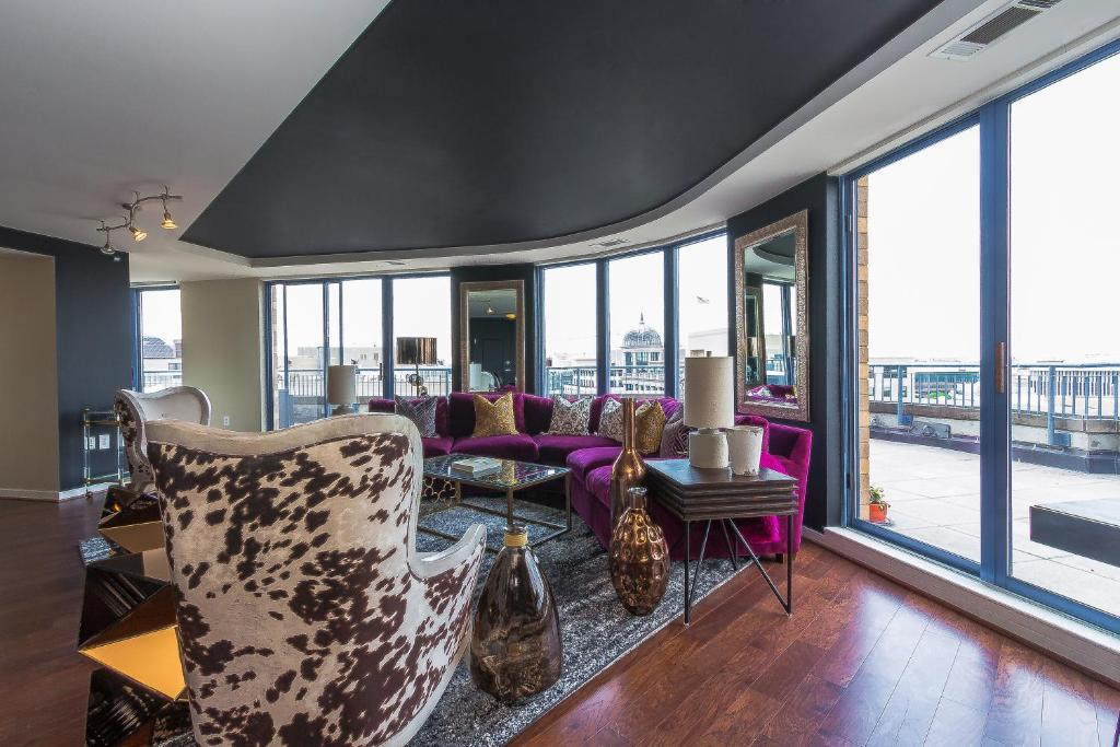 3 Bedroom Penthouse Suite Washington Book Your Hotel With Viamichelin