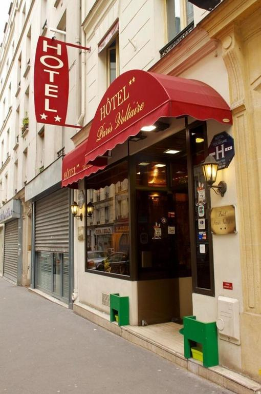 H tel paris voltaire paris online booking viamichelin - Office depot boulevard richard lenoir ...