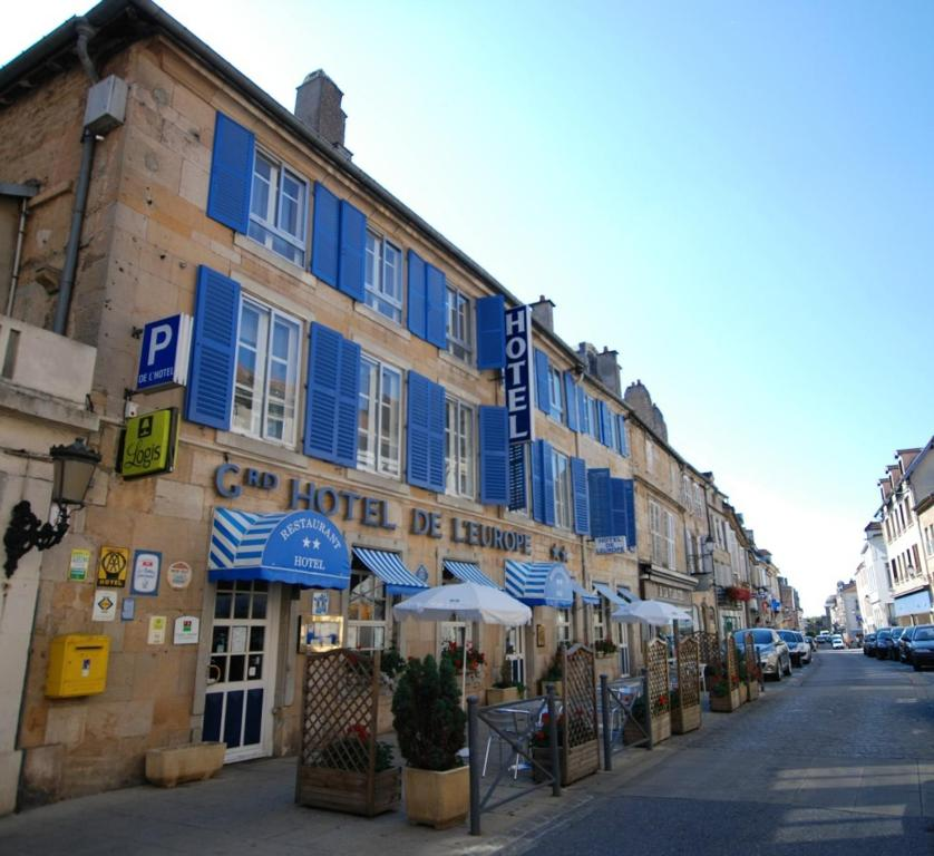 Restaurant Grand Hotel De L Europe Langres