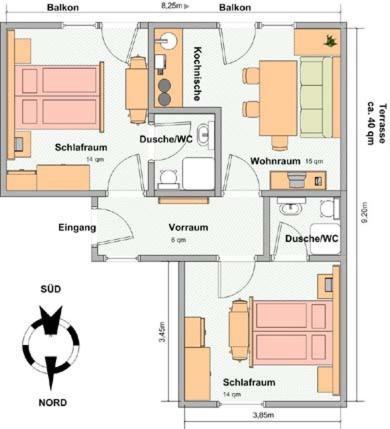 Apartments Haus Enzian, Holiday houses Lermoos