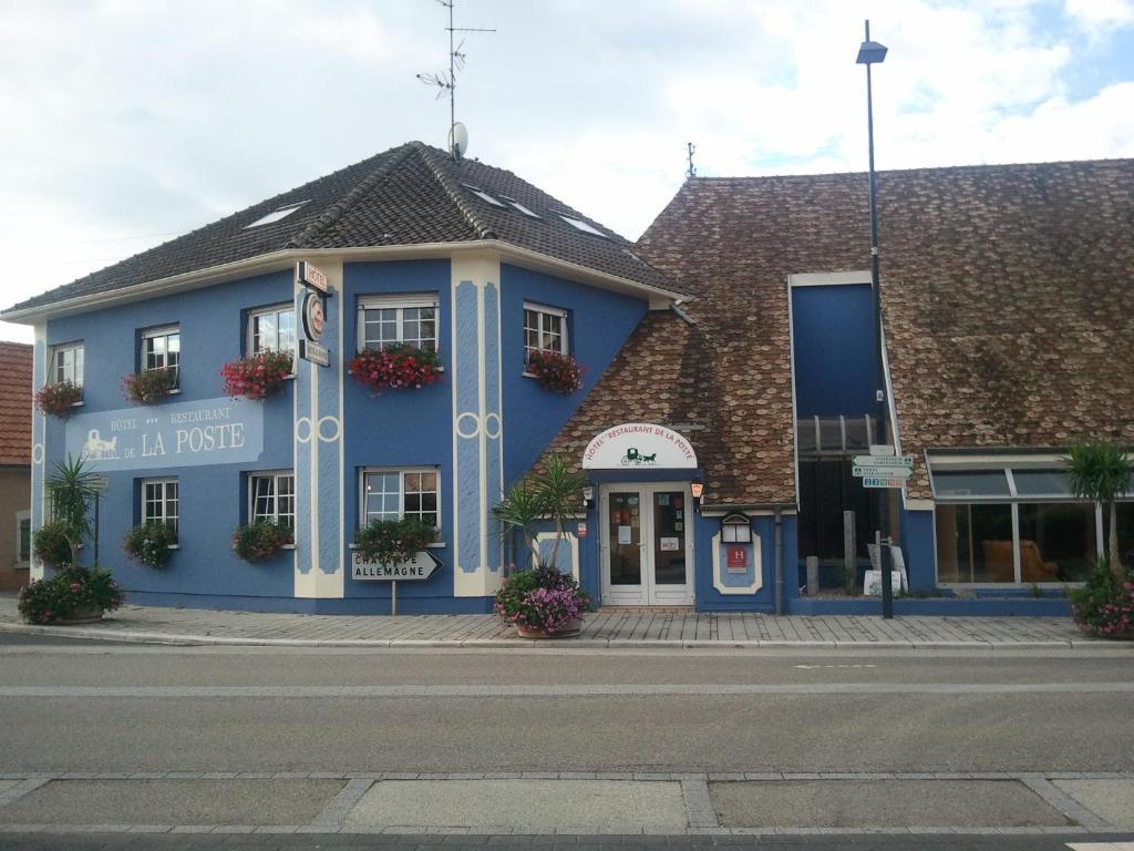 Hotel De La Poste Bantzenheim