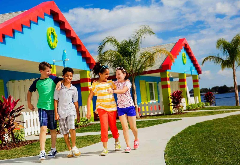 Trẻ em lưu trú tại LEGOLAND® Florida Resort