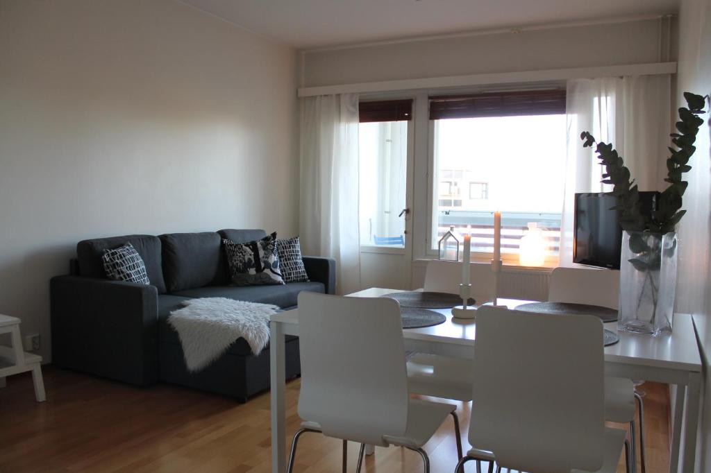 The cosy Wohnung with own private sauna and balcony, Wohnung Rovaniemi