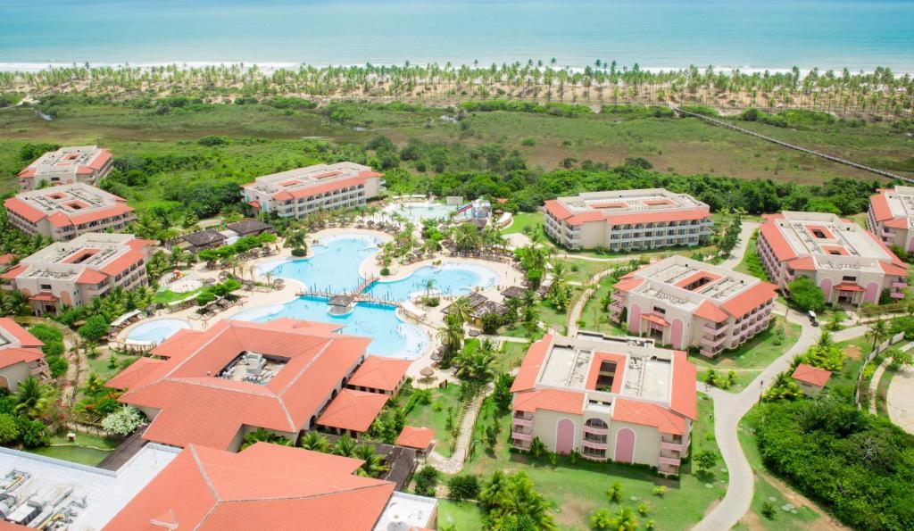 Uma vista aérea de Grand Palladium Imbassaí Resort & Spa - All Inclusive