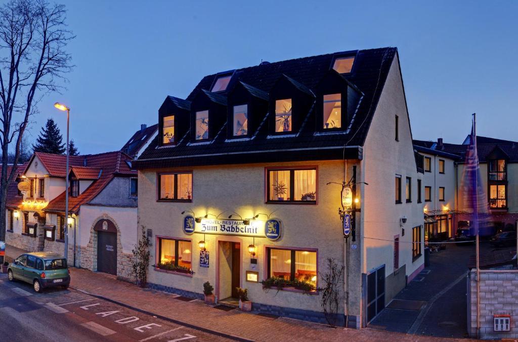 Hotel restaurant zum babbelnit r servation gratuite sur for Design hotel quartier 65 mainz