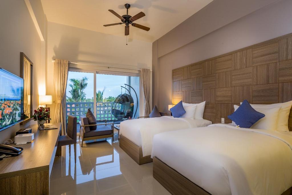 Phòng Grand Deluxe 2 Giường Đơn Với Quyền Sử Dụng Spa Hàng Ngày