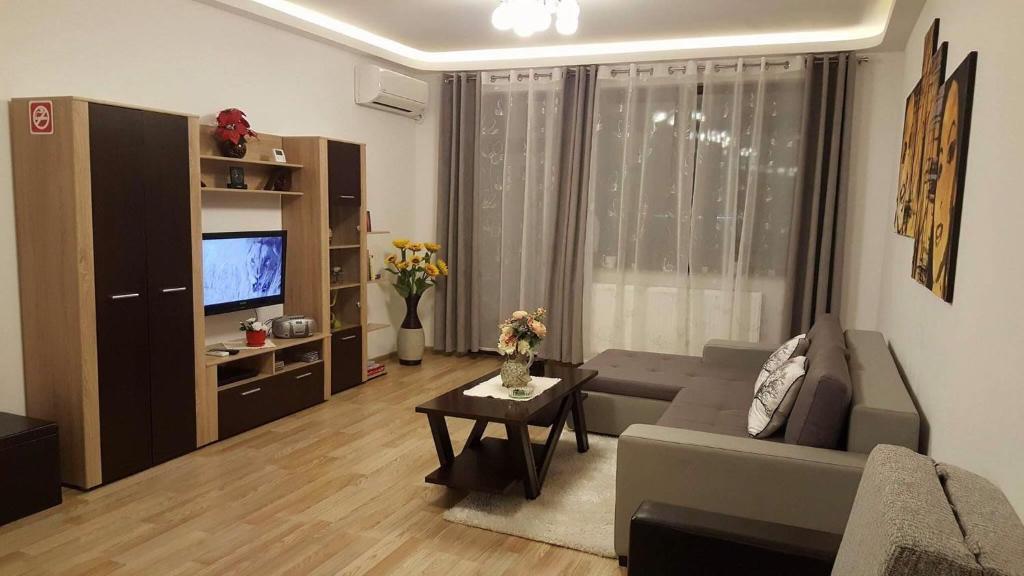 אזור ישיבה ב-Ela Isaran Apartment 1