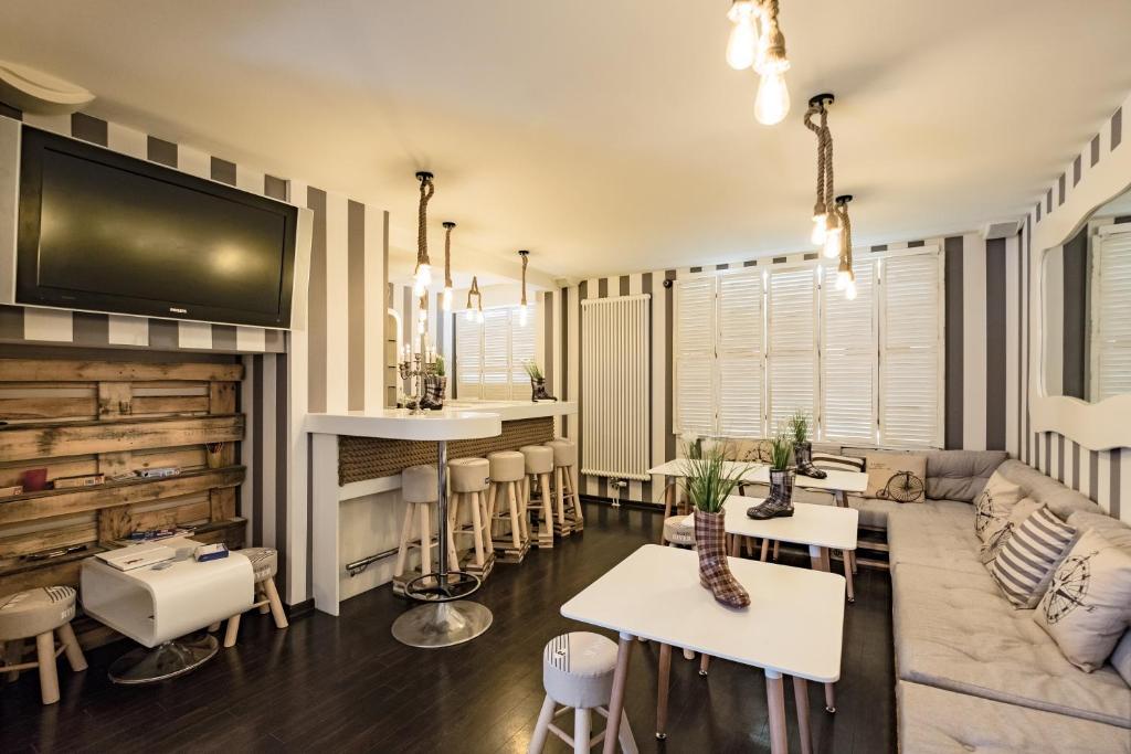 Retro design hotel dornum viamichelin informatie en for Designhotel langeoog