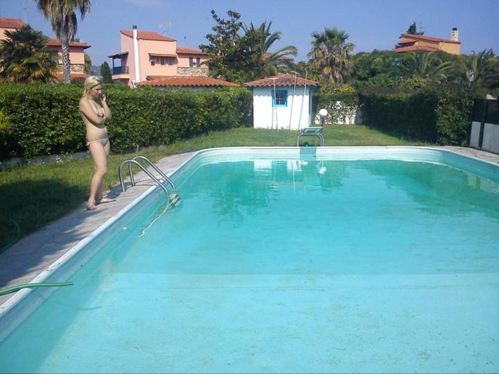 House with private swimming pool r servation gratuite for Chauffage piscine 974