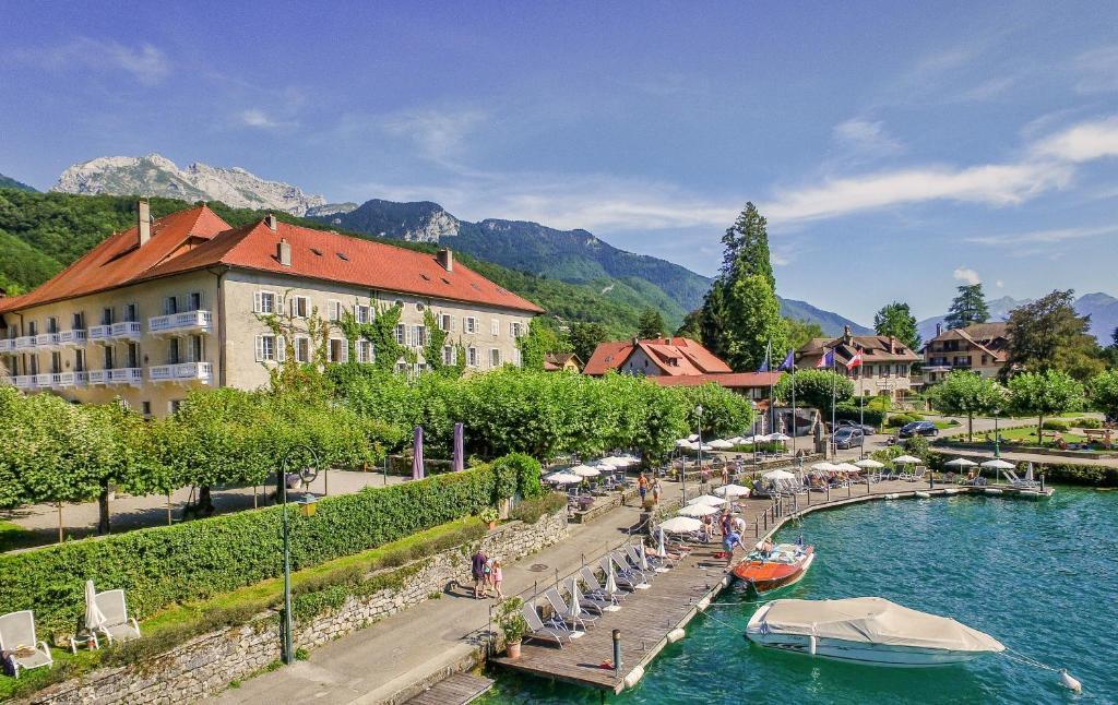 Les plus beaux hôtels de luxe à Annecy