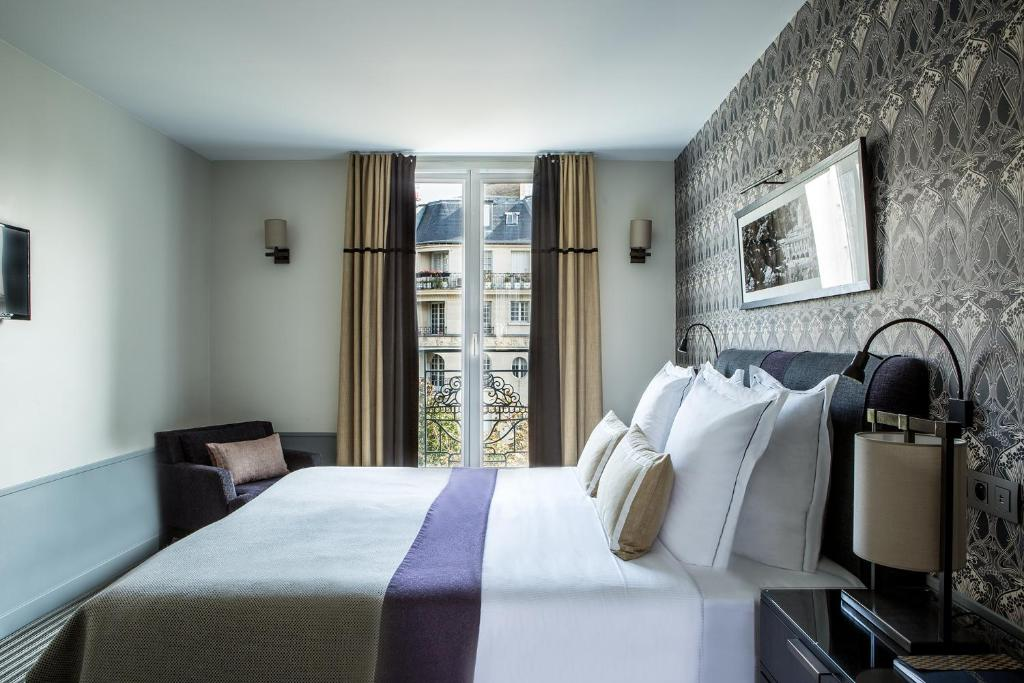 H tel aiglon esprit de france r servation gratuite sur for Hotel design 75014