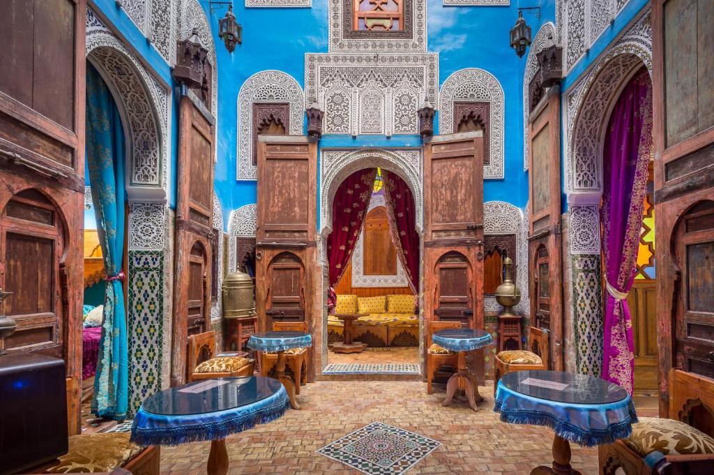 Riad hiba chambres d 39 h tes mekn s for Chambre 13 maroc