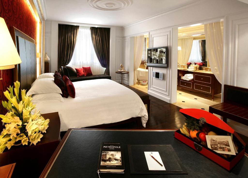 Cánh Opera - Phòng Grand Premium Giường Đôi với Quyền lui tới Executive Lounge
