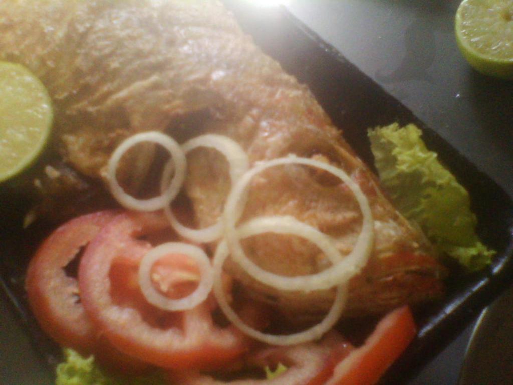 peixe frito da Bahia