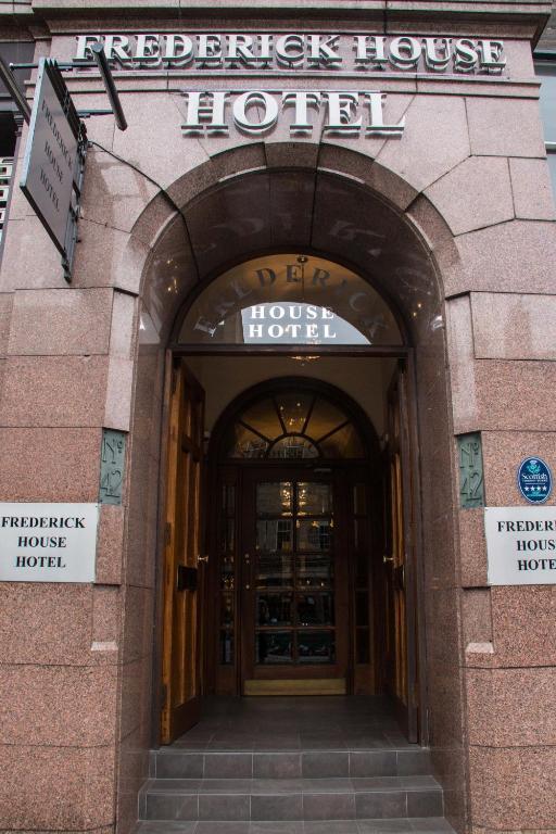 Frederick House Hotel Edinburgh Website