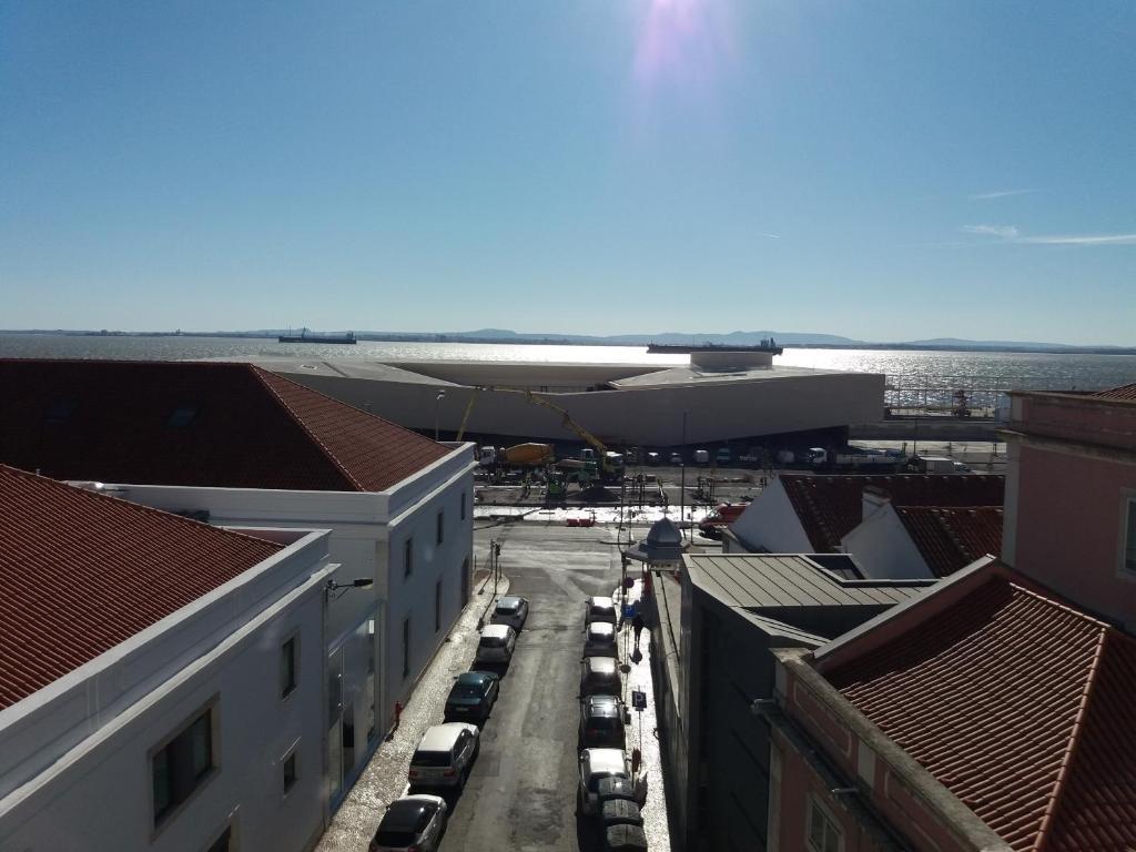 Alfama Tejo penthouse studio Lissabon Informationen und Buchungen online ViaMichelin