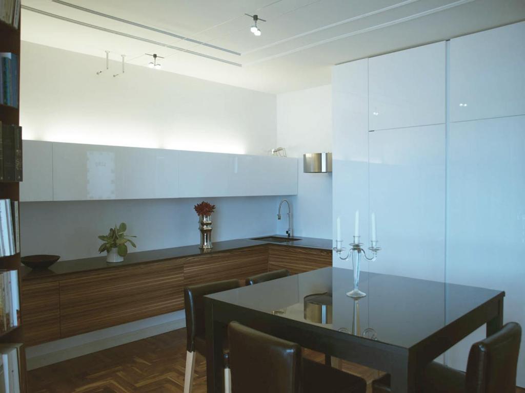 Nhà bếp/bếp nhỏ tại Residence Villa Greta