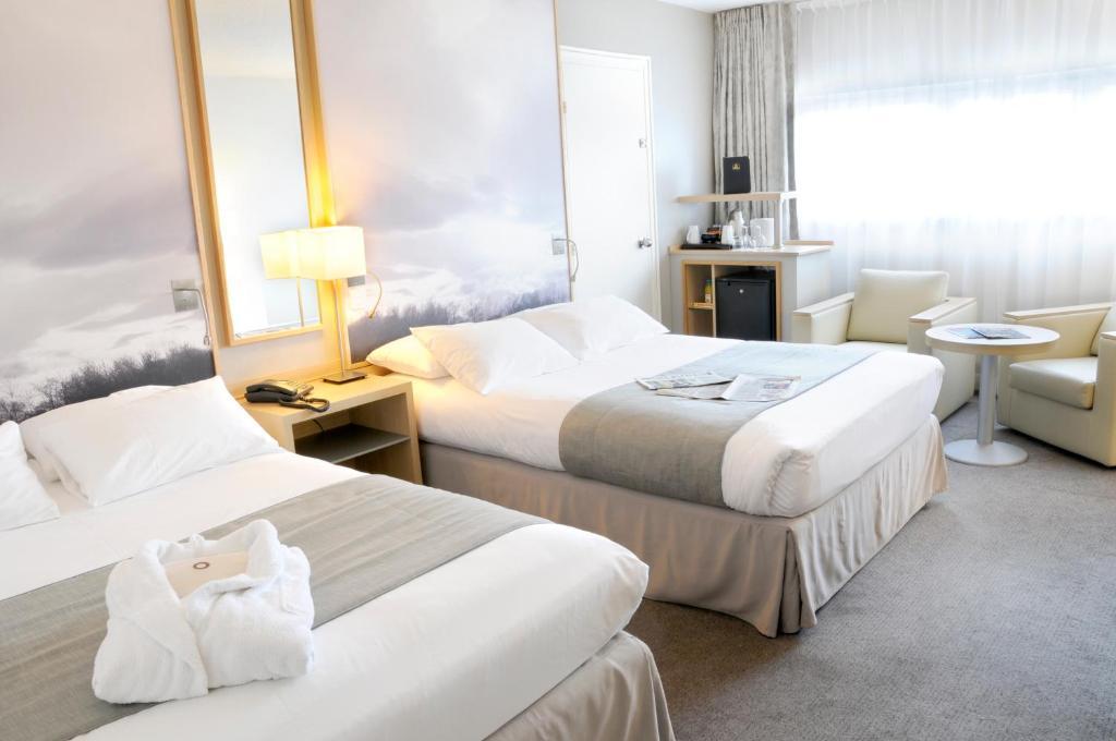 best western plus paris orly airport r servation gratuite sur viamichelin. Black Bedroom Furniture Sets. Home Design Ideas