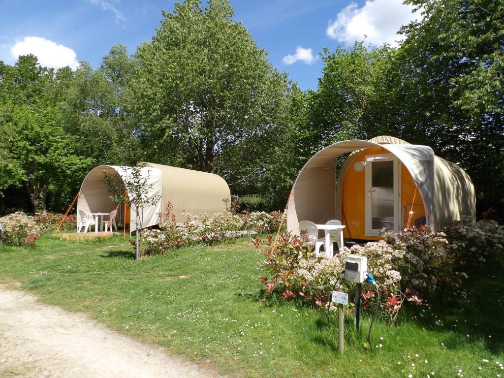 Camping des cerisiers r servation gratuite sur viamichelin for Reserver des hotels