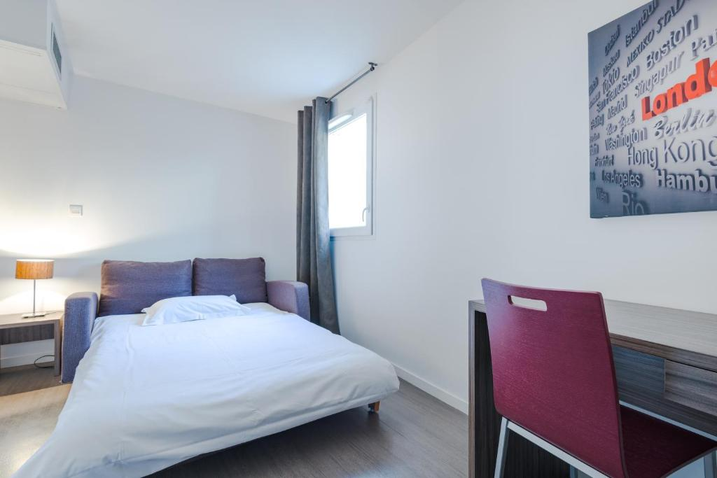Appart h tel hevea valence online booking viamichelin for Appart hotel valence