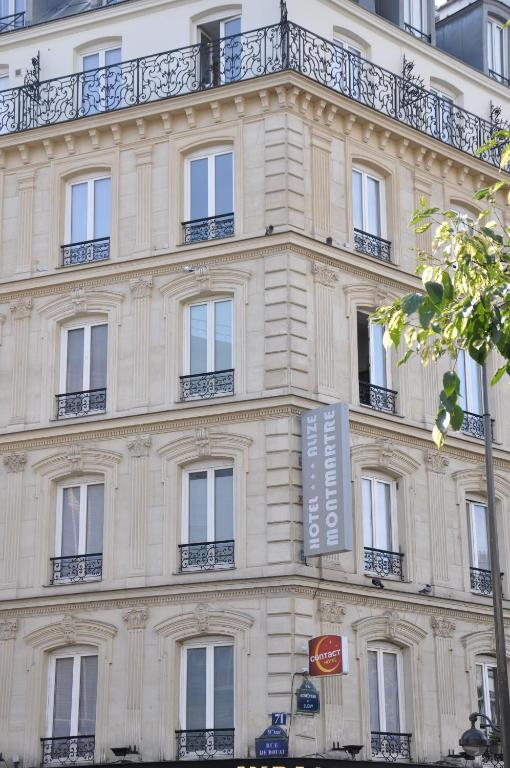 Contact h tel aliz montmartre paris informationen und for Hotel paris telephone