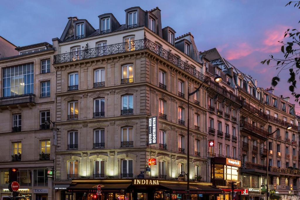 Contact h tel aliz montmartre paris informationen und for Contact hotel