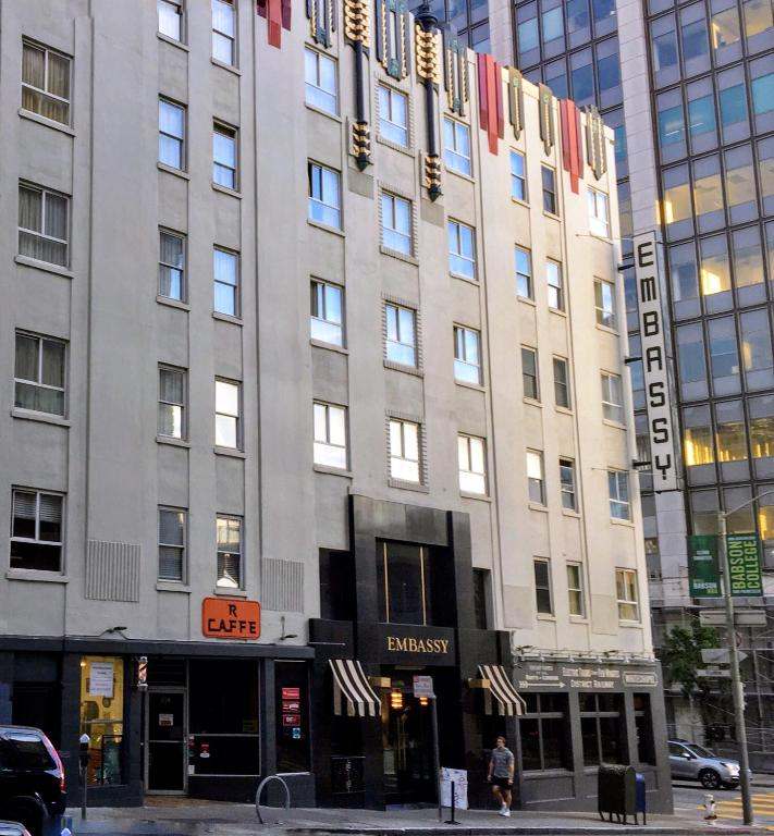 Embassy hotel san francisco informationen und for Red coach motor lodge san francisco