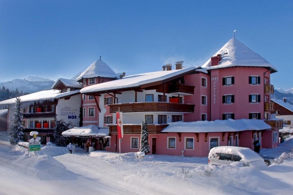 Hotel moserhof r servation gratuite sur viamichelin for Reserver hotel payer sur place