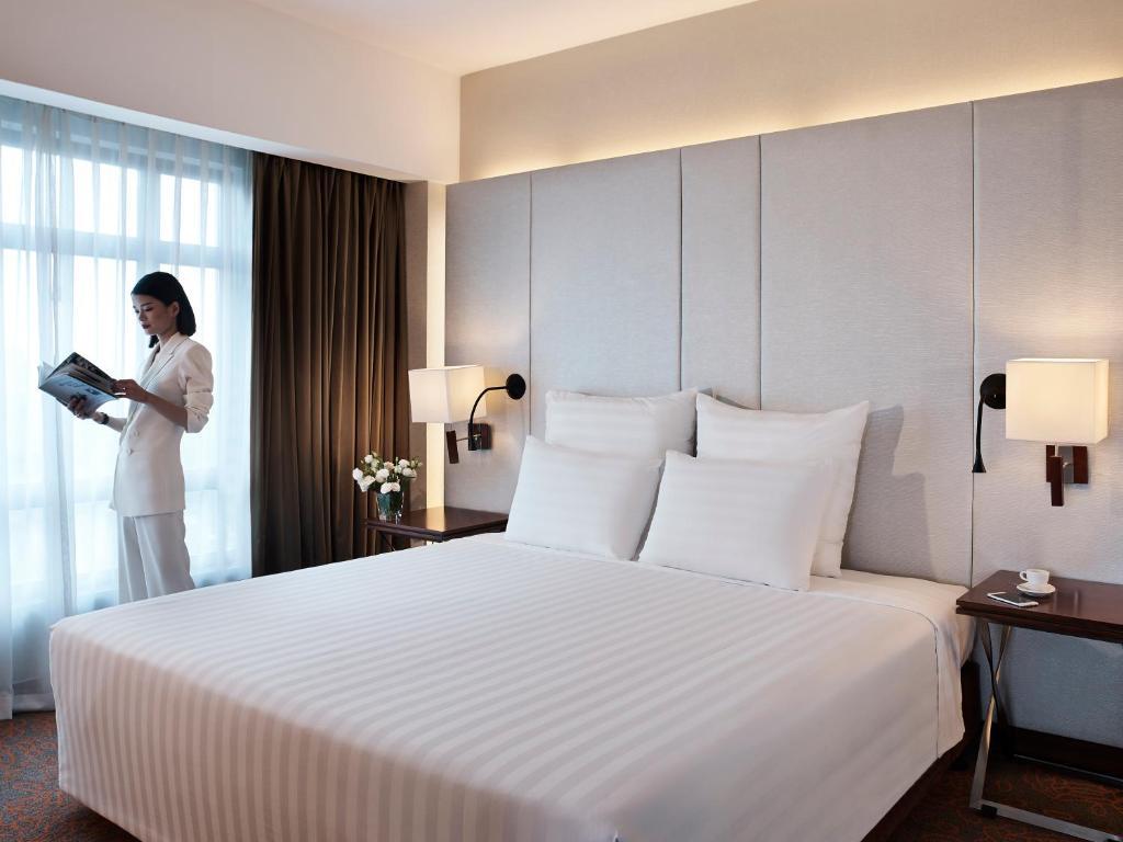 Suite Executive có giường cỡ King Nhìn ra Thành phố