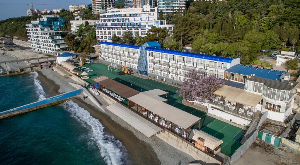 Una vista aérea de Eco Hotel Levant
