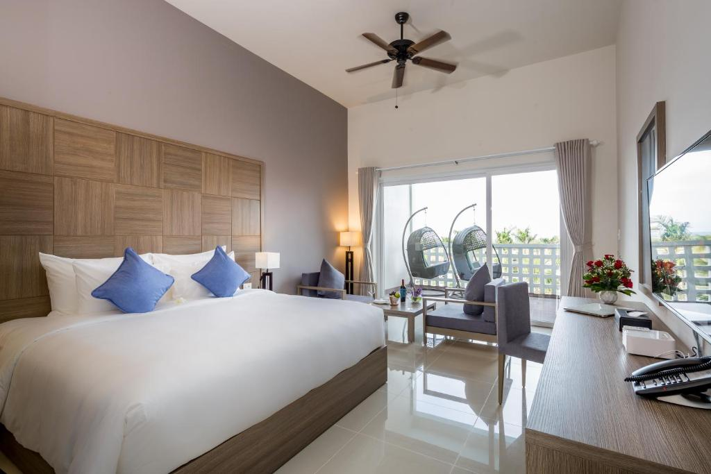 Phòng Grand Deluxe Giường Đôi Với Quyền Sử Dụng Spa Hàng Ngày