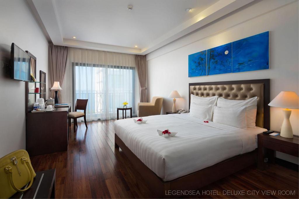 Phòng Deluxe Giường Đôi Nhìn ra quang cảnh Thành phố