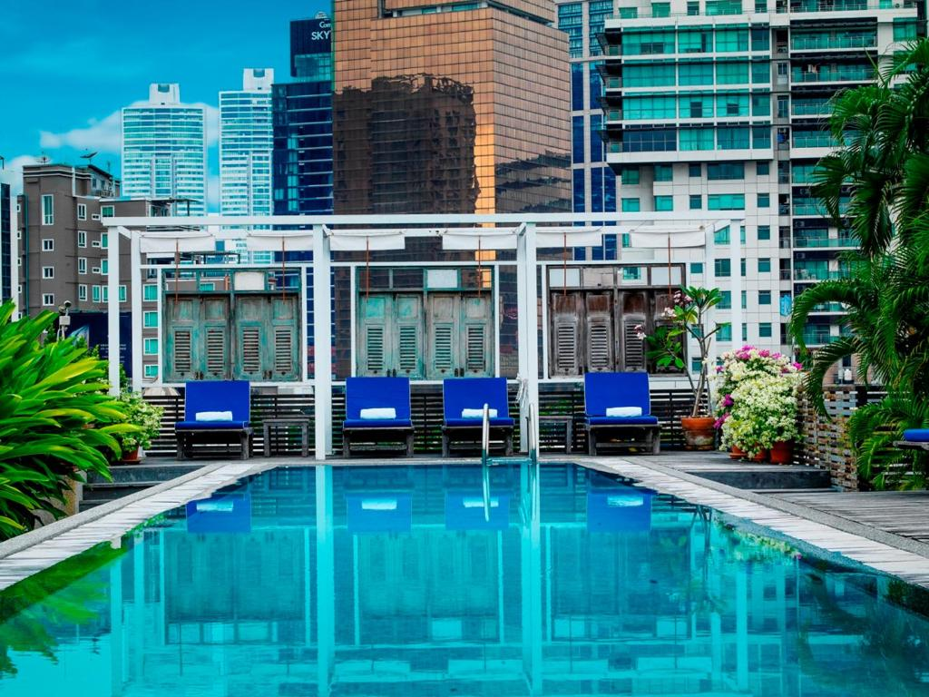 Garden Terrace Room Bangkok Sukhumvit Hotel