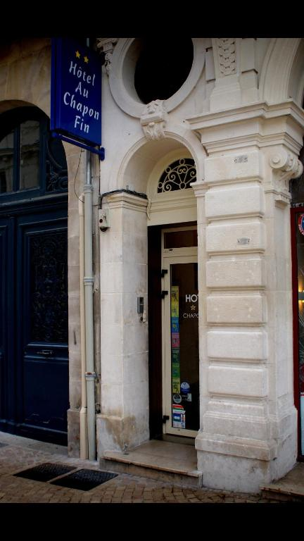 Hotel Au Chapon Fin Poitiers France