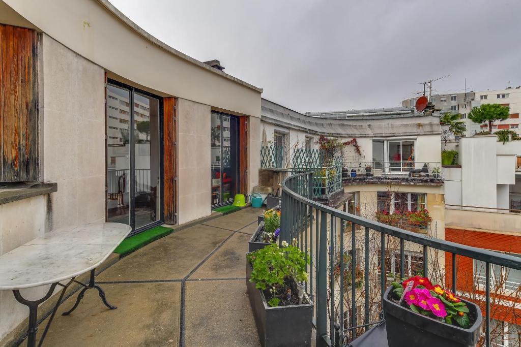 Cosy Studio With Balcony Porte De SaintCloud - Hotel porte de saint cloud