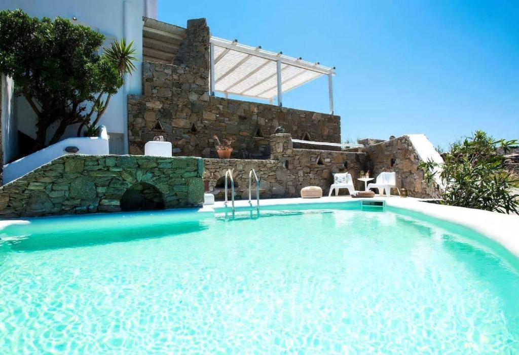 villa unique luxury modern maisonette grécia kalafati booking com