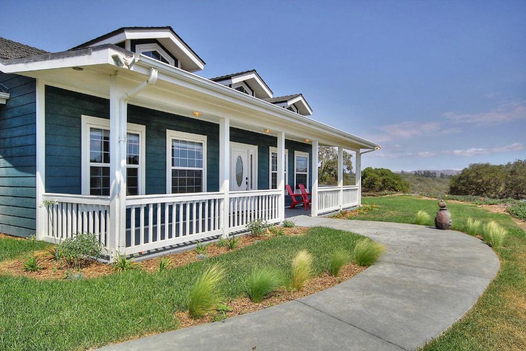 casa de temporada countryside ranch house home eua lompoc