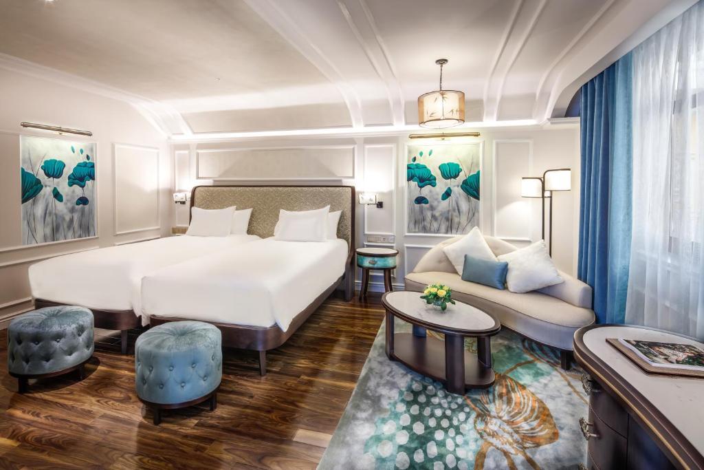 Phòng Deluxe với 2 Giường Đơn
