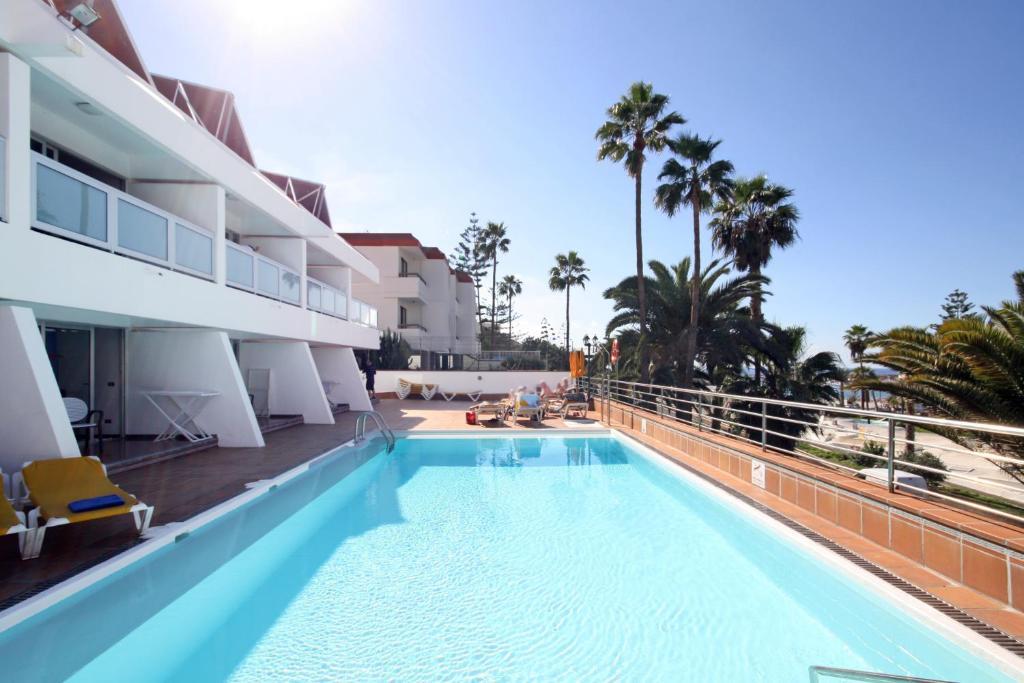 Apartamentos miami gran canaria r servation gratuite sur viamichelin - Apartamentos puerto rico las palmas ...