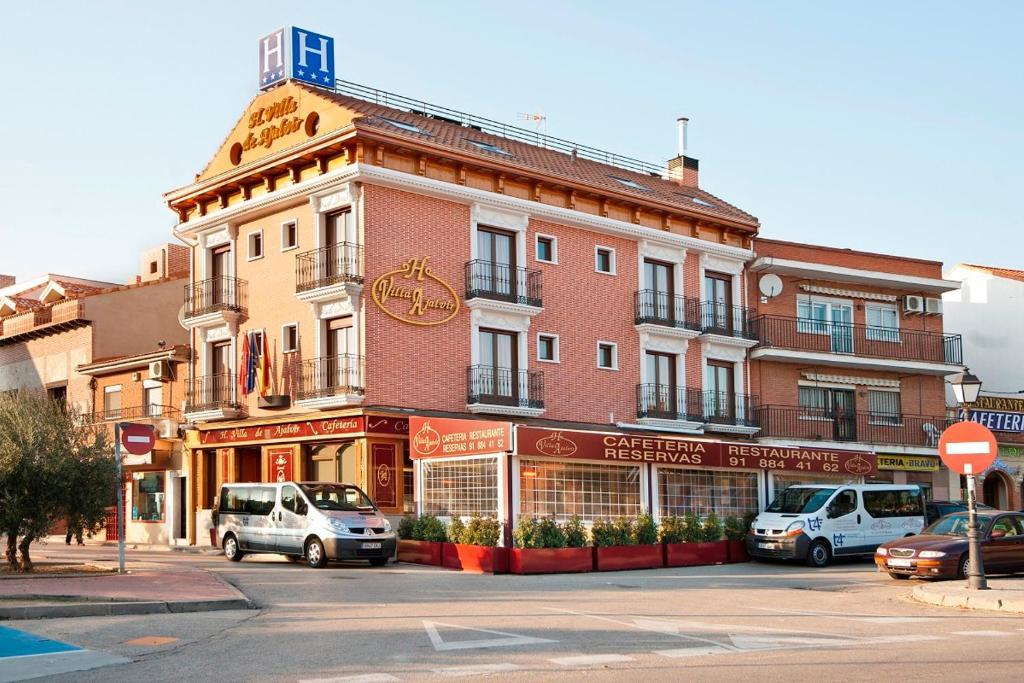 Hotel villa de ajalvir r servation gratuite sur viamichelin for Reserver des hotels