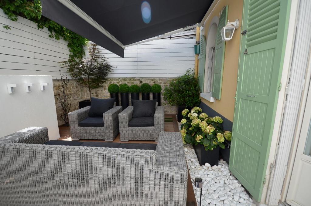Le jardin de rochegrosse levallois perret prenotazione for Le jardin knokke michelin