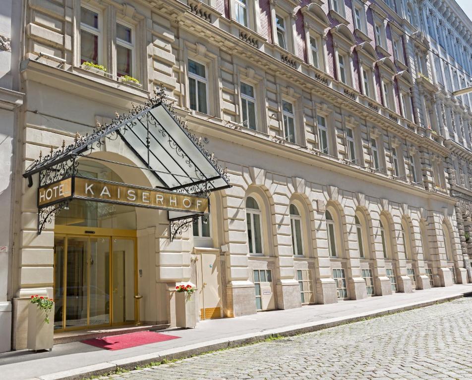 Hotel Kaiserhof Wien Frankenberggasse