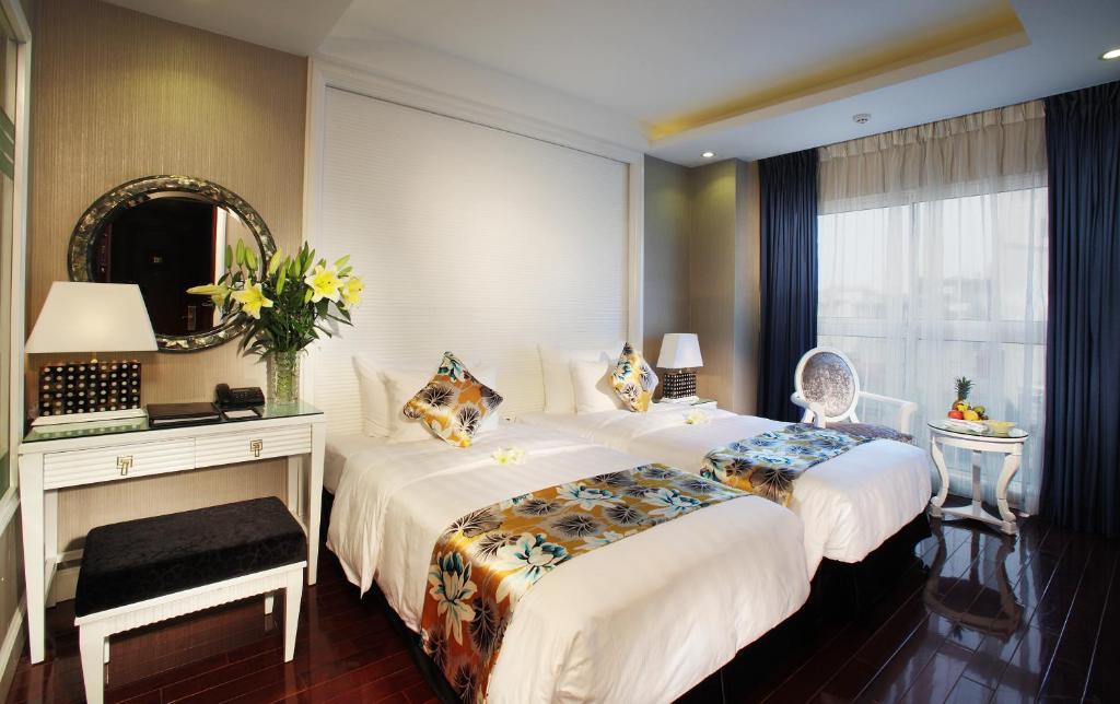 Phòng Luxury Giường Đôi/ 2 Giường Đơn